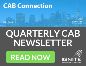Fall 2019 Customer Advisory Board Newsletter