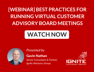 [WEBINAR ON DEMAND] Best Practices for Running Virtual Customer Advisory Board Meetings